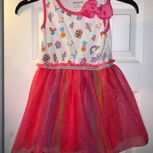 Fun Pink TuTu Dress JoJoSiwa